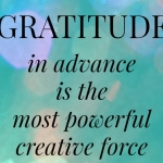 Gratitude In Advance