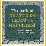 Gratitude Leads To Happiness