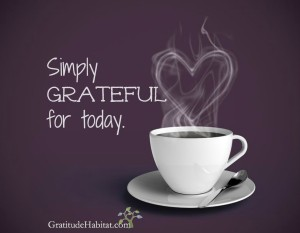 Simply grateful-coffee