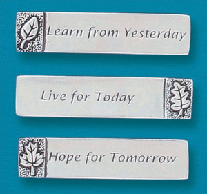 Live, Learn and Hope Magnets