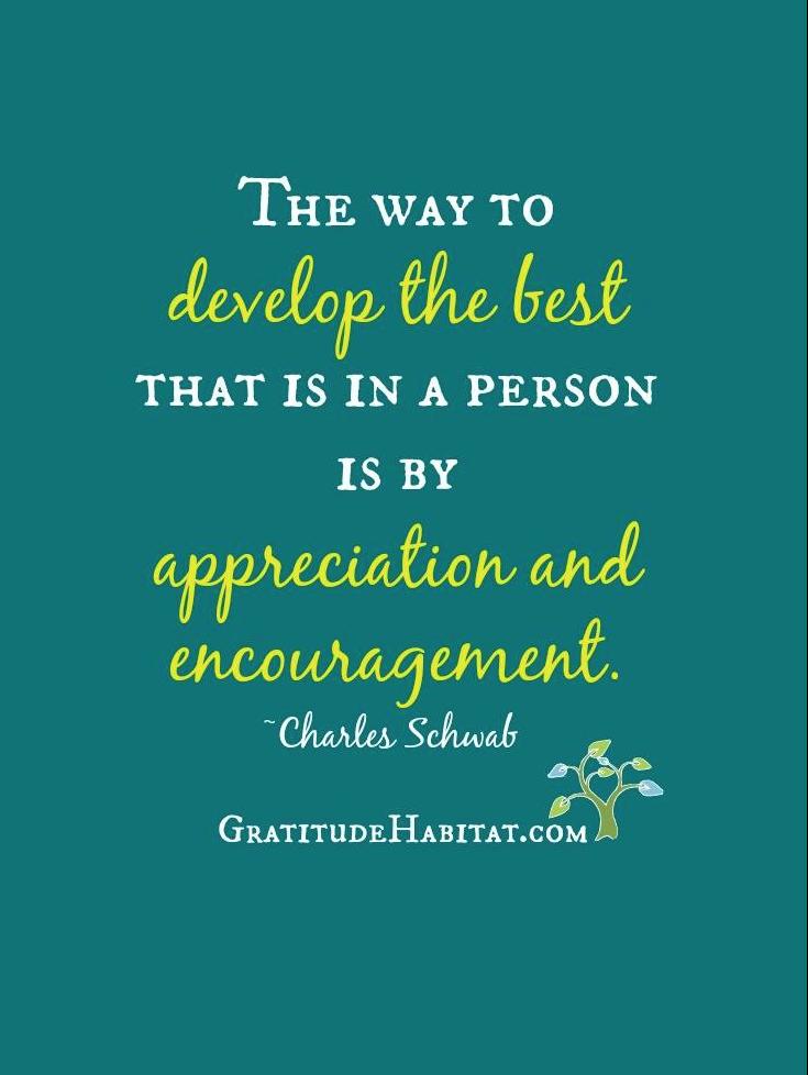 Appreciation Quotes: Living In Gratitude: Appreciation