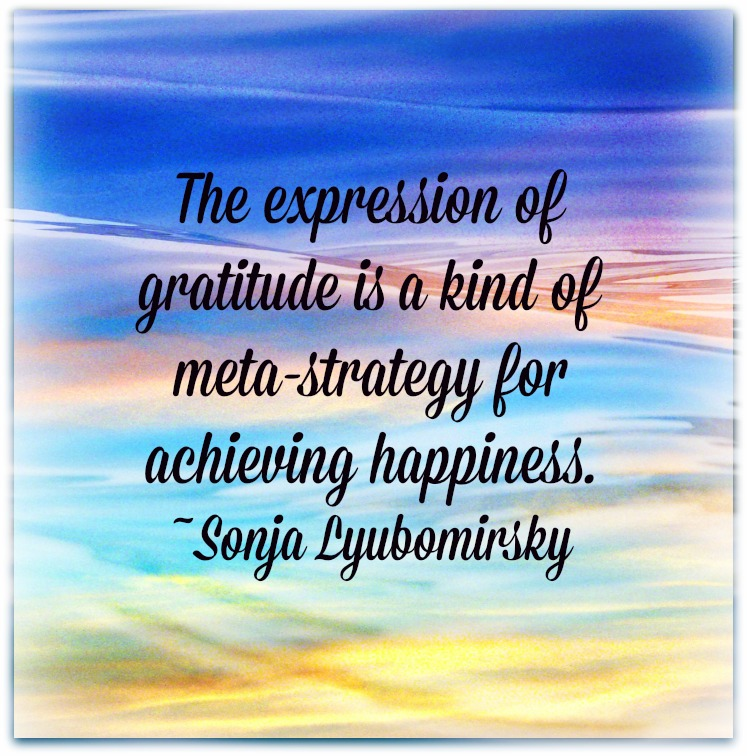 the expression of gratitude essay Robert emmons, perhaps the world's leading scientific expert on gratitude, argues that gratitude has two key components.