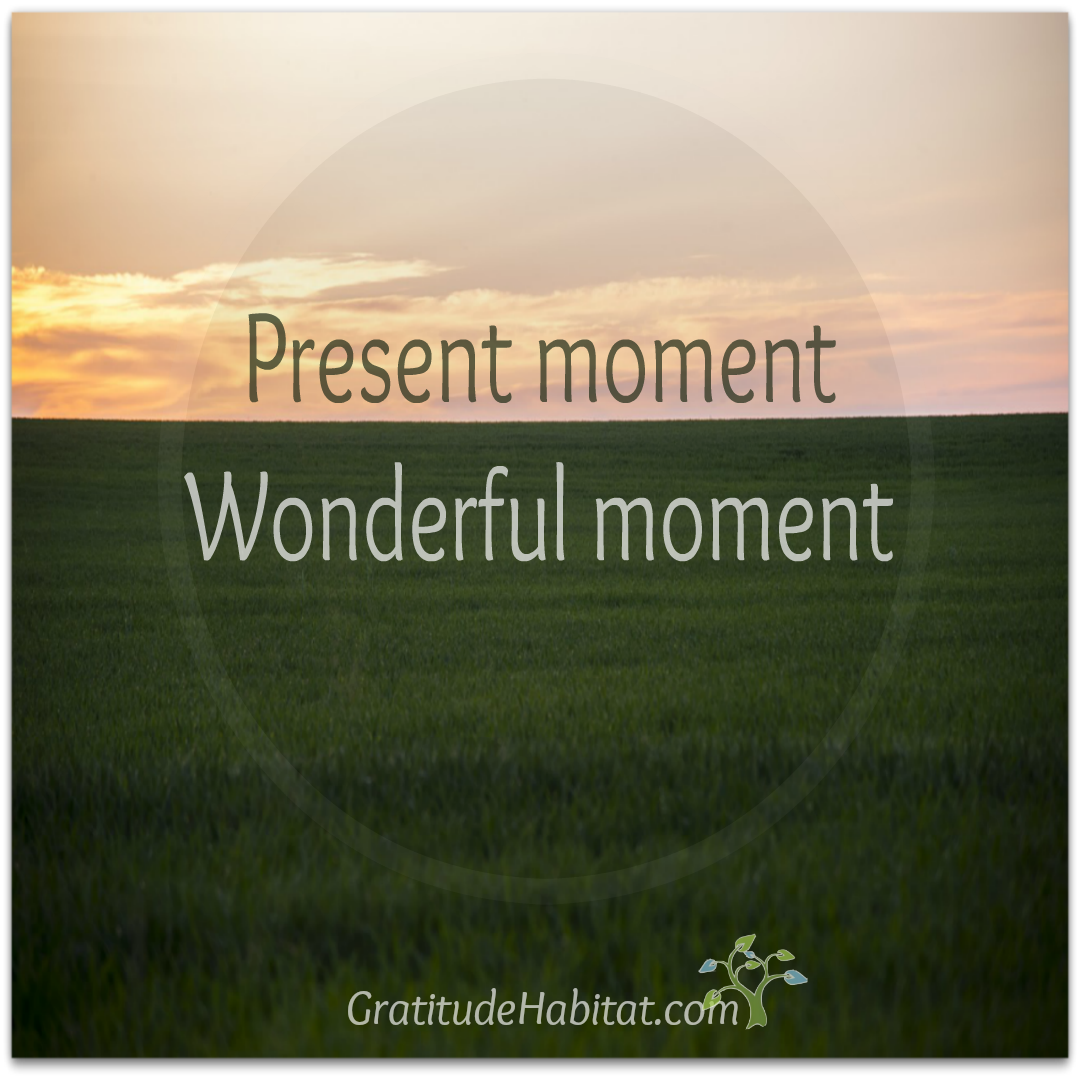 Present moment-In
