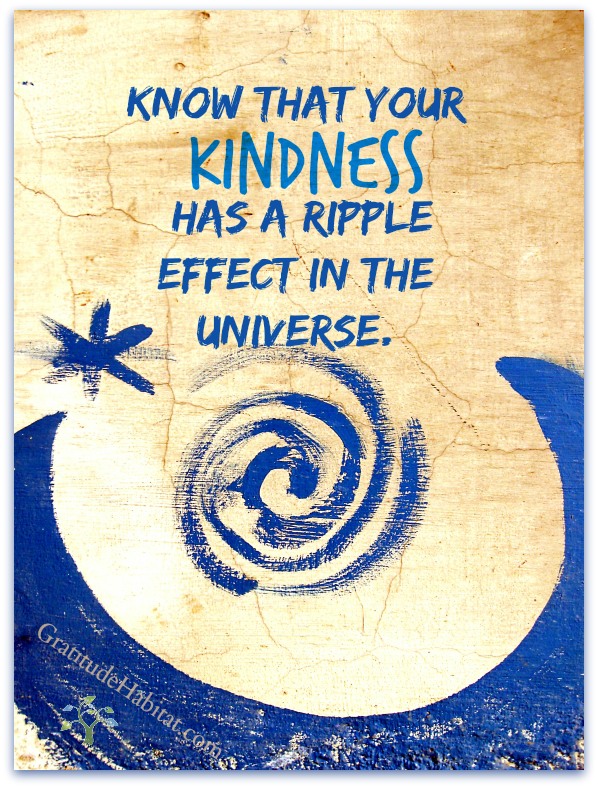 Know that your kindness3