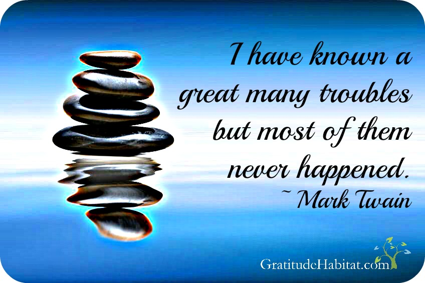 Mark Twain Trouble Quote GH logo