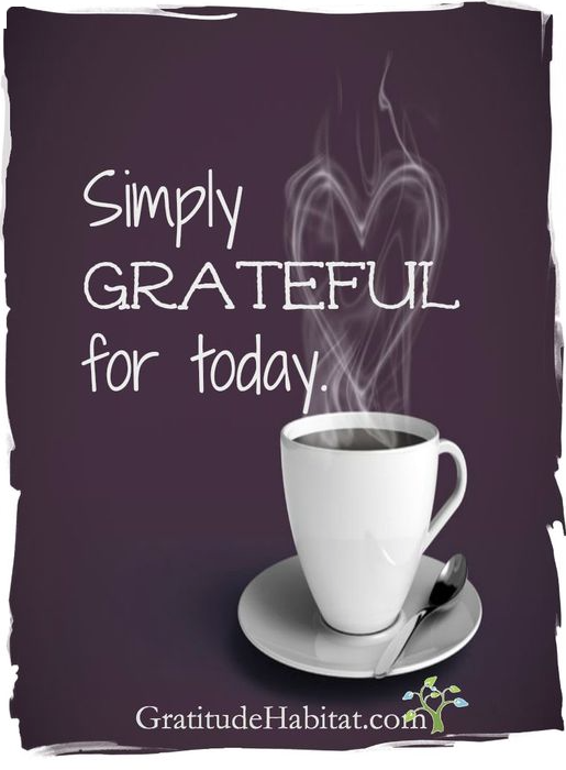 simply grateful for today
