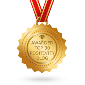 Top 30 positivity blog award